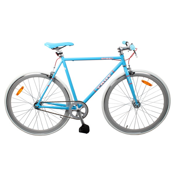 Troy Speed 28 Inch 53 cm Heren V Brake Blauw