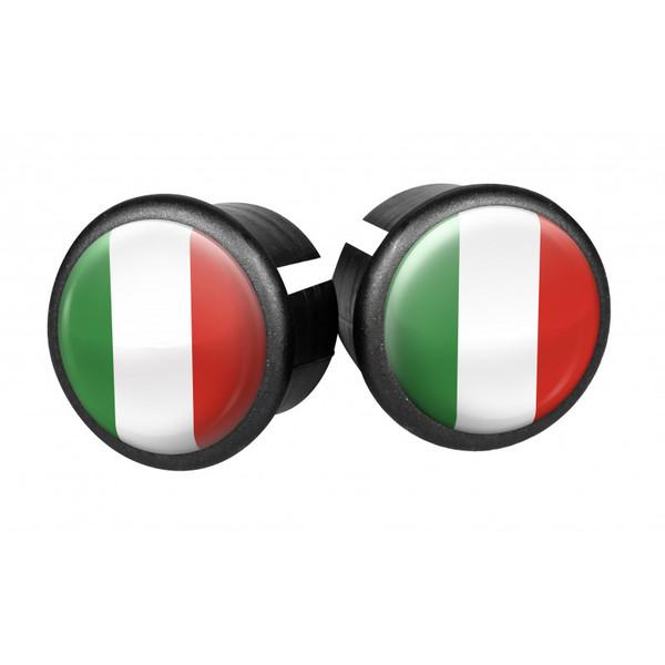 Velox stuurdoppen Itali� 20 mm groen/wit/rood