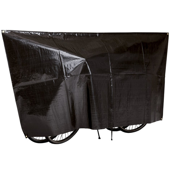 Hoes VK Fiets-Scooter 2 Fietsen Zwart****