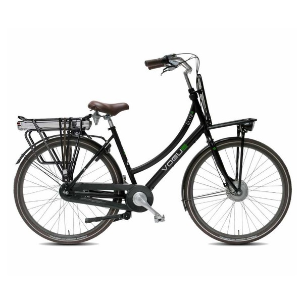 Vogue Elektrische fiets Elite Plus dames mat zwart 468 Watt