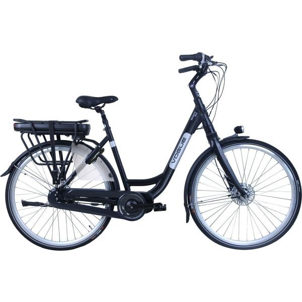 Vogue Elektrische fiets Infinity MDS dames mat zwart 468 Watt