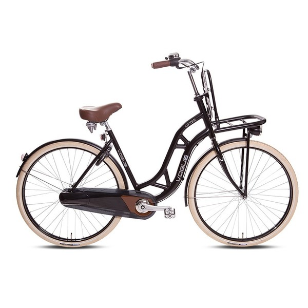 Vogue Lifter Transportfiets 28 inch Mat zwart