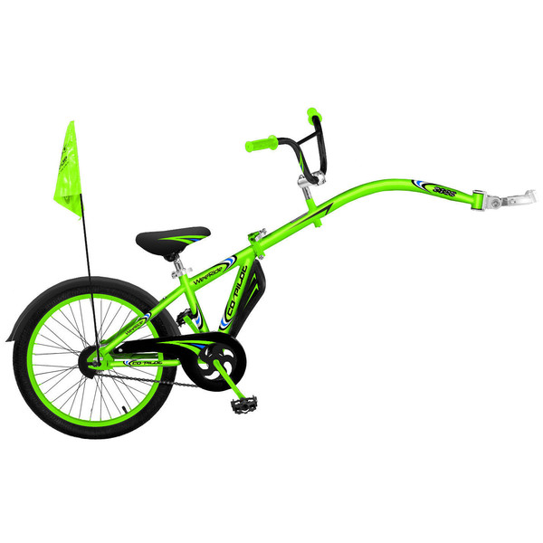 WeeRide Co Pilot 20 Inch Junior Groen