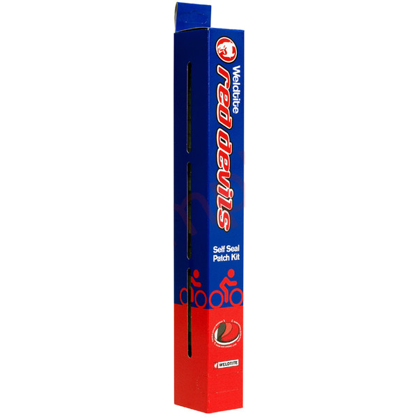 Weldtite bandplakkers Red Devils doosje 6 stuks display à 25 stuks