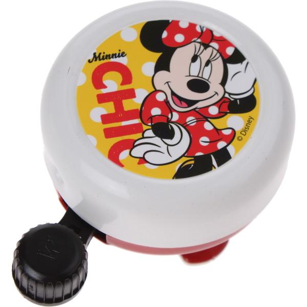 Widek Fietsbel Minnie Mouse 55 mm wit met gele sticker Onderdelen & Accessoires aanschaffen doe je het voordeligst hier