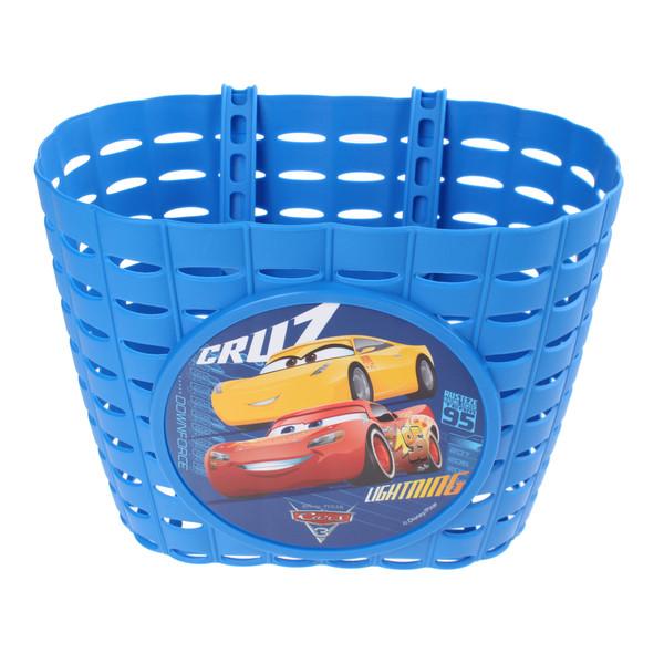 Widek fietsmand Cars 3 6 liter blauw