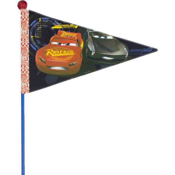 Widek fietsvlag met stok Cars 3 deelbaar blauw Onderdelen & Accessoires aanschaffen doe je het voordeligst hier