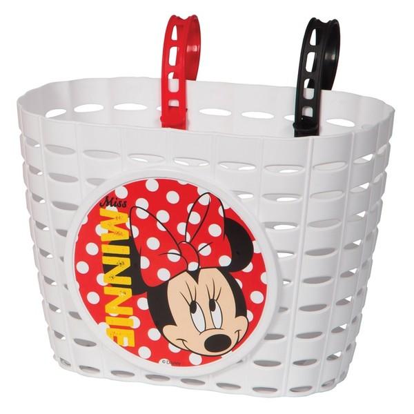 Widek Kinderfietsmandje Minnie Mouse Wit Onderdelen & Accessoires aanschaffen doe je het voordeligst hier