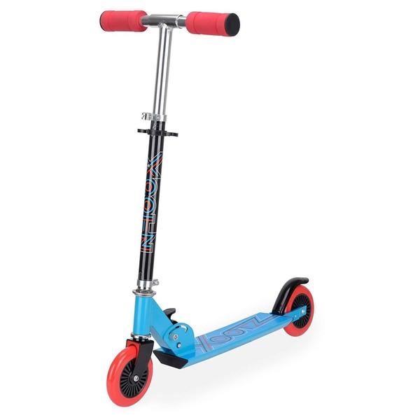Xootz Folding Kick step Junior Voetrem Blauw