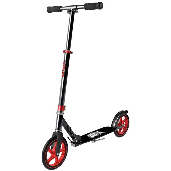 Xootz Xoo Large Wheeled Junior Voetrem Zilver