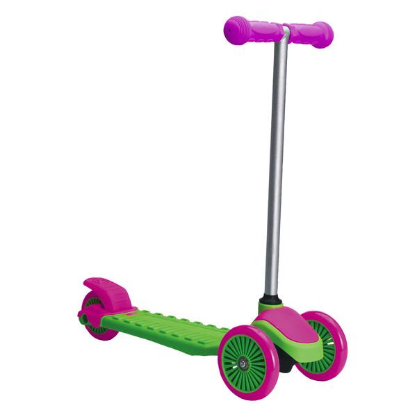 XQ Max 3 wiel kinderstep Junior Voetrem Groen/Roze