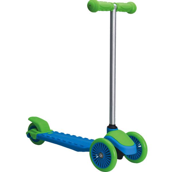 XQ Max 3 wielstep Junior Voetrem Blauw/Groen