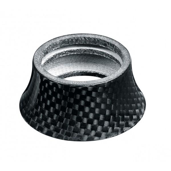 Xtasy Opvulring Balhoofd Carbon Conisch 1 1-8inch 20mm Zwart