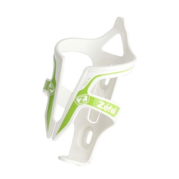 Zefal bidonhouder Pulse 70 mm glasvezel/kunststof wit/groen