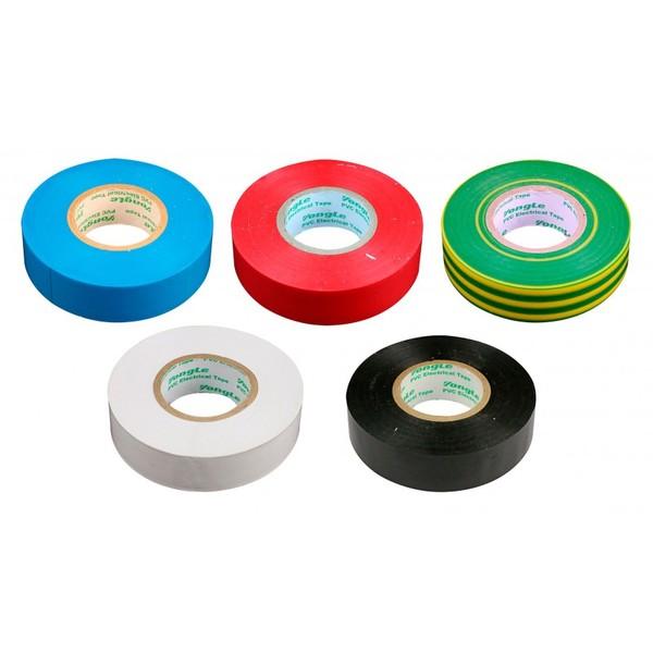 Zenitech 5 rollen isolatietape 19 mm x 20 m Onderdelen & Accessoires aanschaffen doe je het voordeligst hier