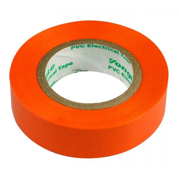Zenitech isolatietape 15 mm x 10 m oranje Onderdelen & Accessoires aanschaffen doe je het voordeligst hier