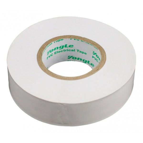 Zenitech isolatietape 19 mm x 20 m wit Onderdelen & Accessoires aanschaffen doe je het voordeligst hier