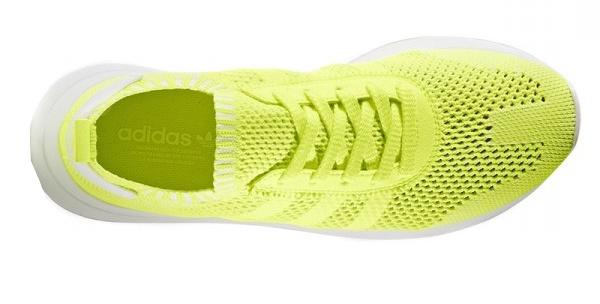 adidas sneakers dames geel
