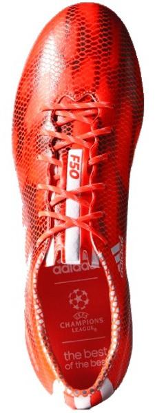 sale retailer c87aa 2e519 adidas voetbalschoenen F50 Adizero FG heren rood ...