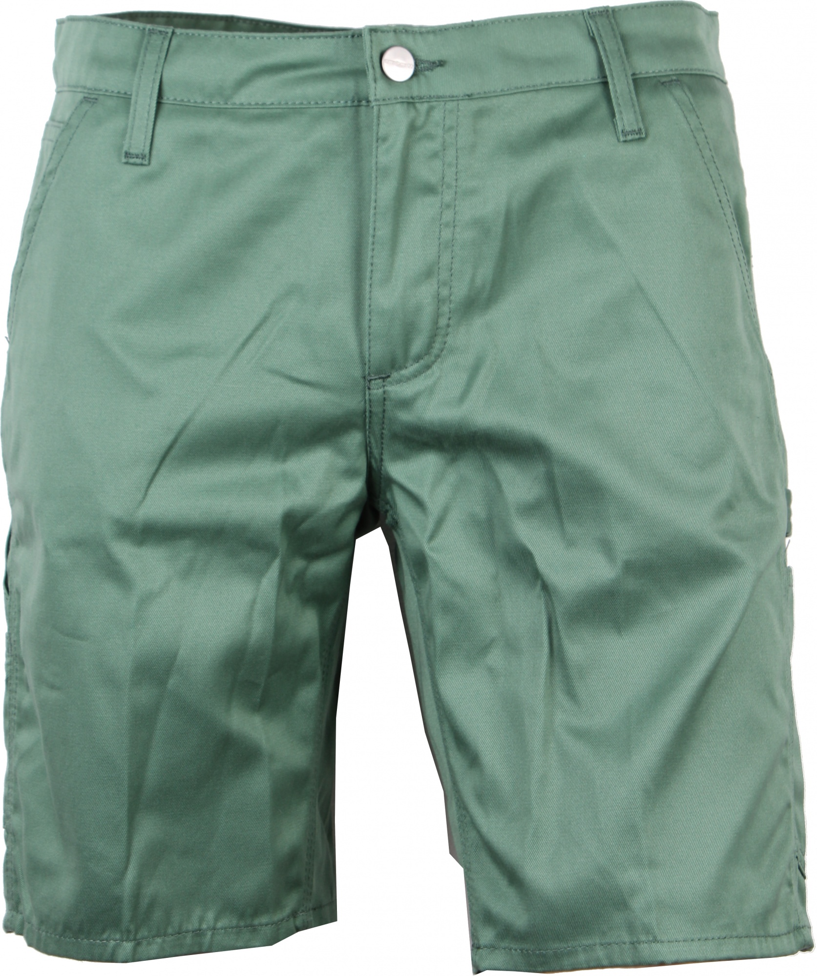 Short Korte Broek Heren.Carhartt Korte Broek Lincoln Single Knee Short Groen Heren Giga