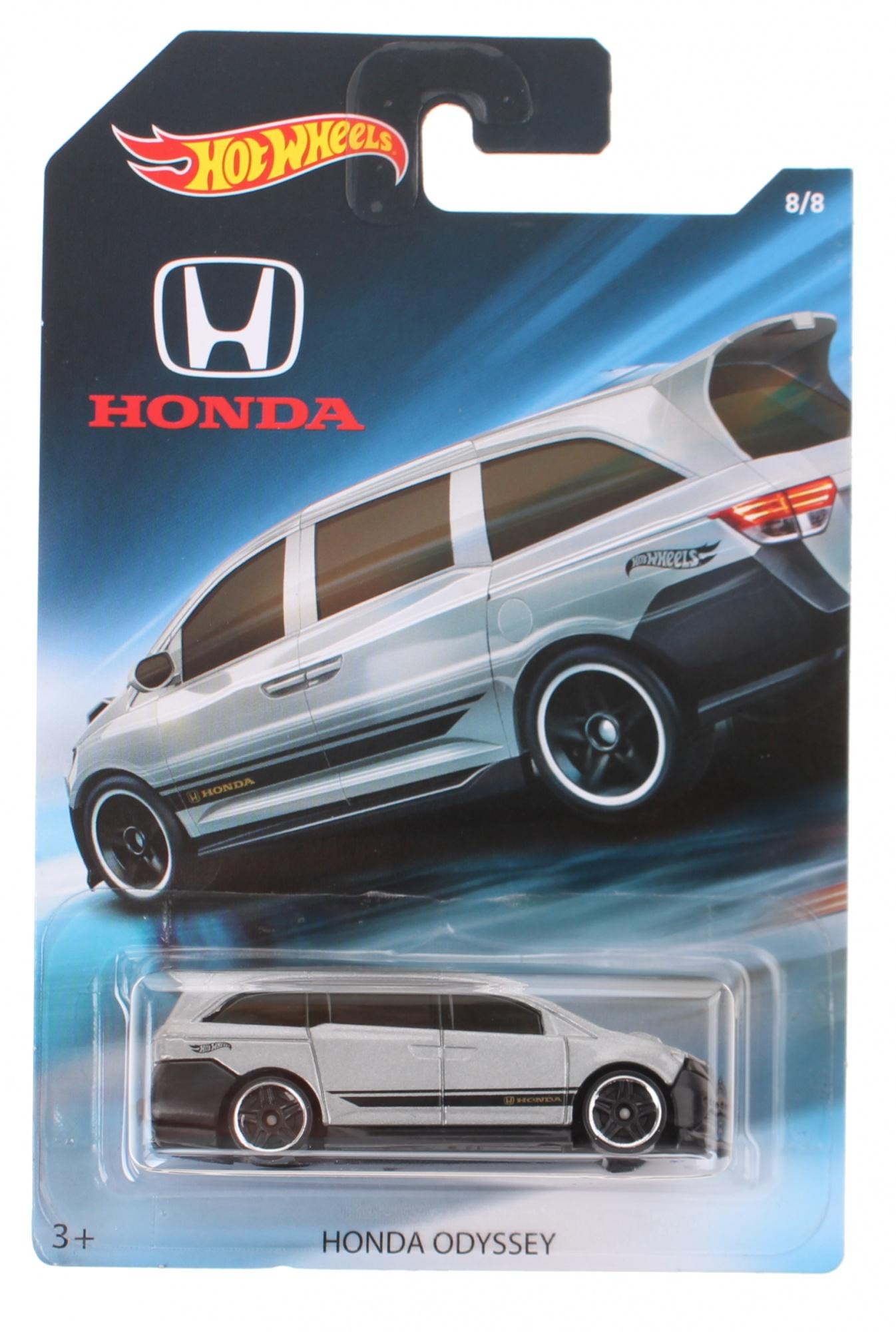 ... Hot Wheels Honda Odyssey gray 7 cm