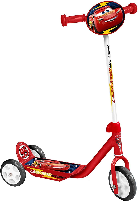 Disney Pixar Cars Scooter mit Fußbremse Rot für Kinder ab 5 Jahre