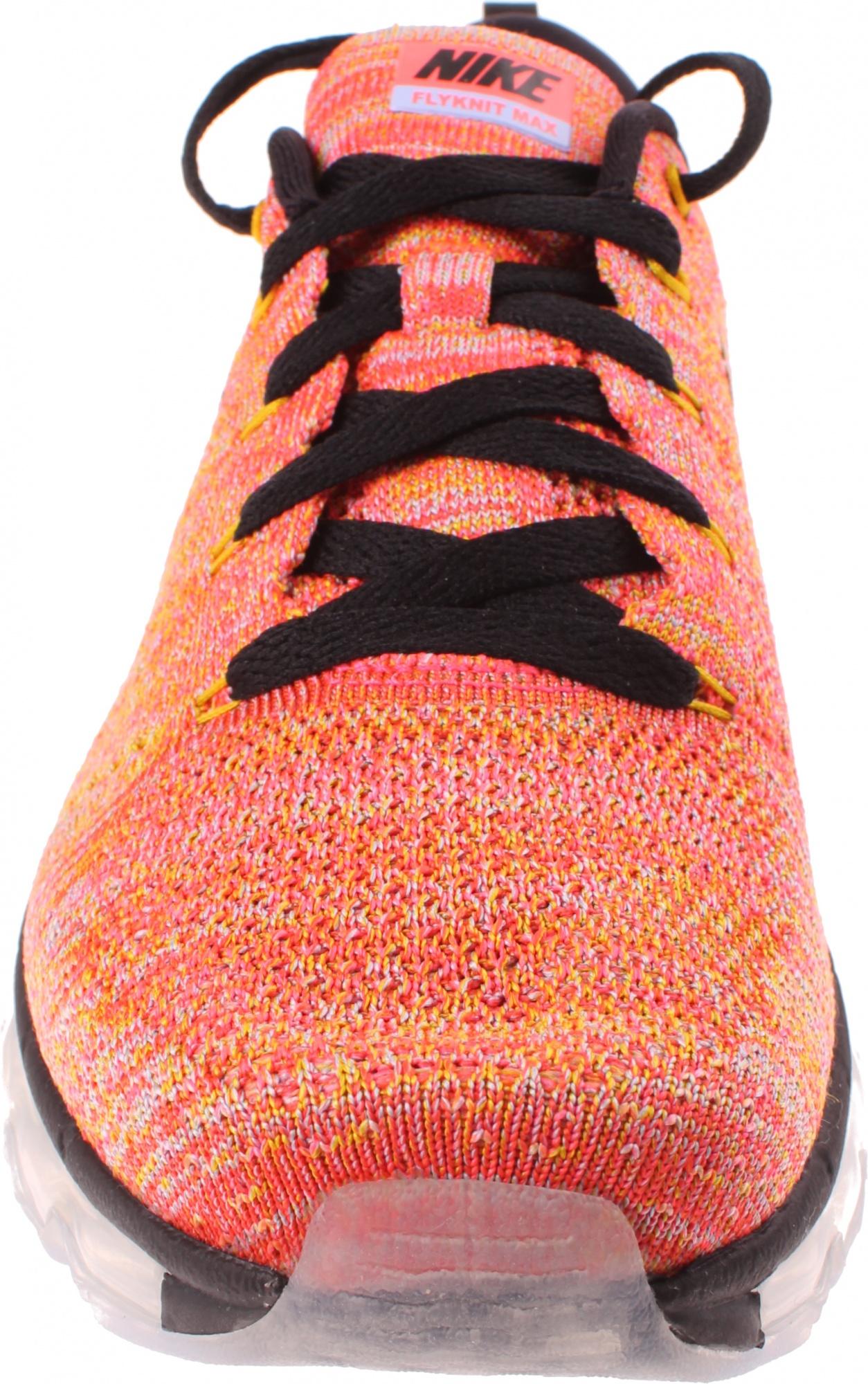 new product 69567 06b45 Nike sneakers Flyknit Max dames oranje ...