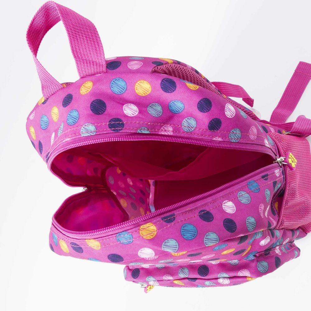 c952988762d ... Pixie crew rugzak bubblegum met siliconen paneel 10 liter roze