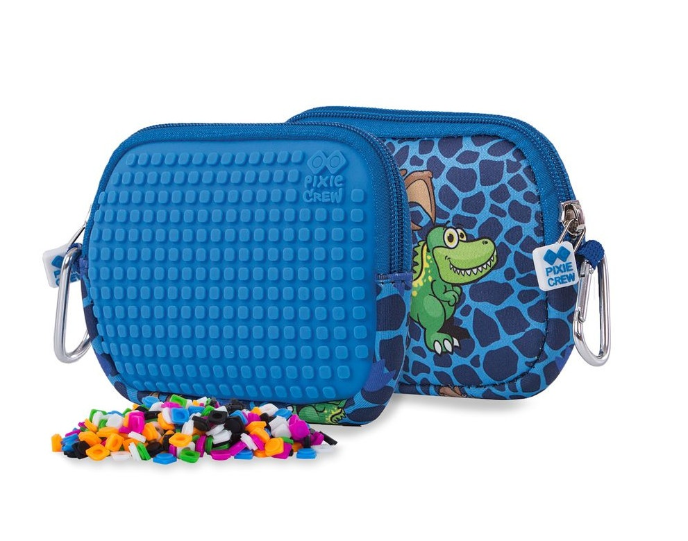 a2bd59838 Pixie crew bag with silicone panel dinosaur 15 cm blue - Giga-Bikes ...