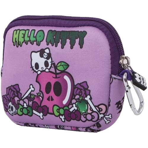 a90f8712e Free bracelet Pixie crew bag with silicone panel Hello Kitty 15 cm purple
