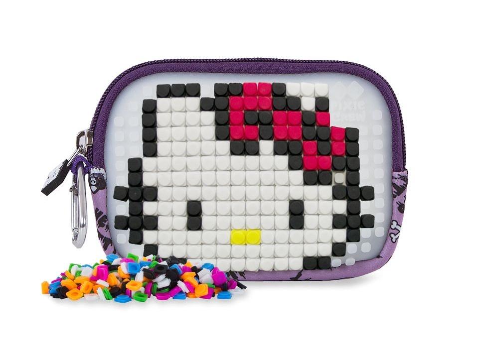51376a831 Pixie crew bag with silicone panel Hello Kitty 15 cm purple - Giga ...