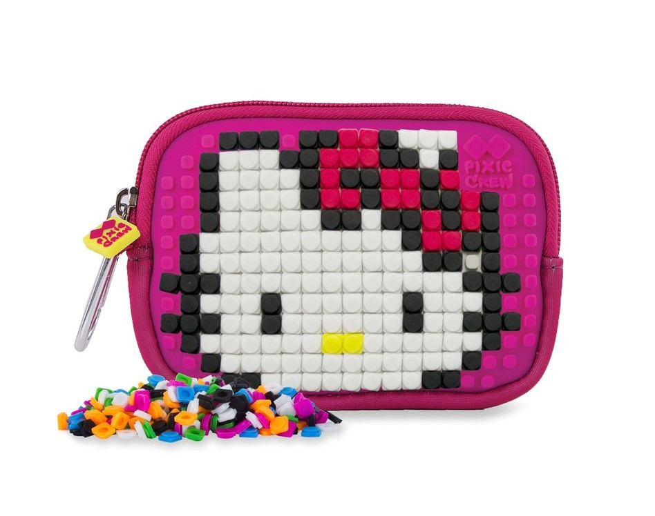 6c4a019bc Pixie crew bag with silicone panel Hello Kitty 15 cm pink - Giga ...