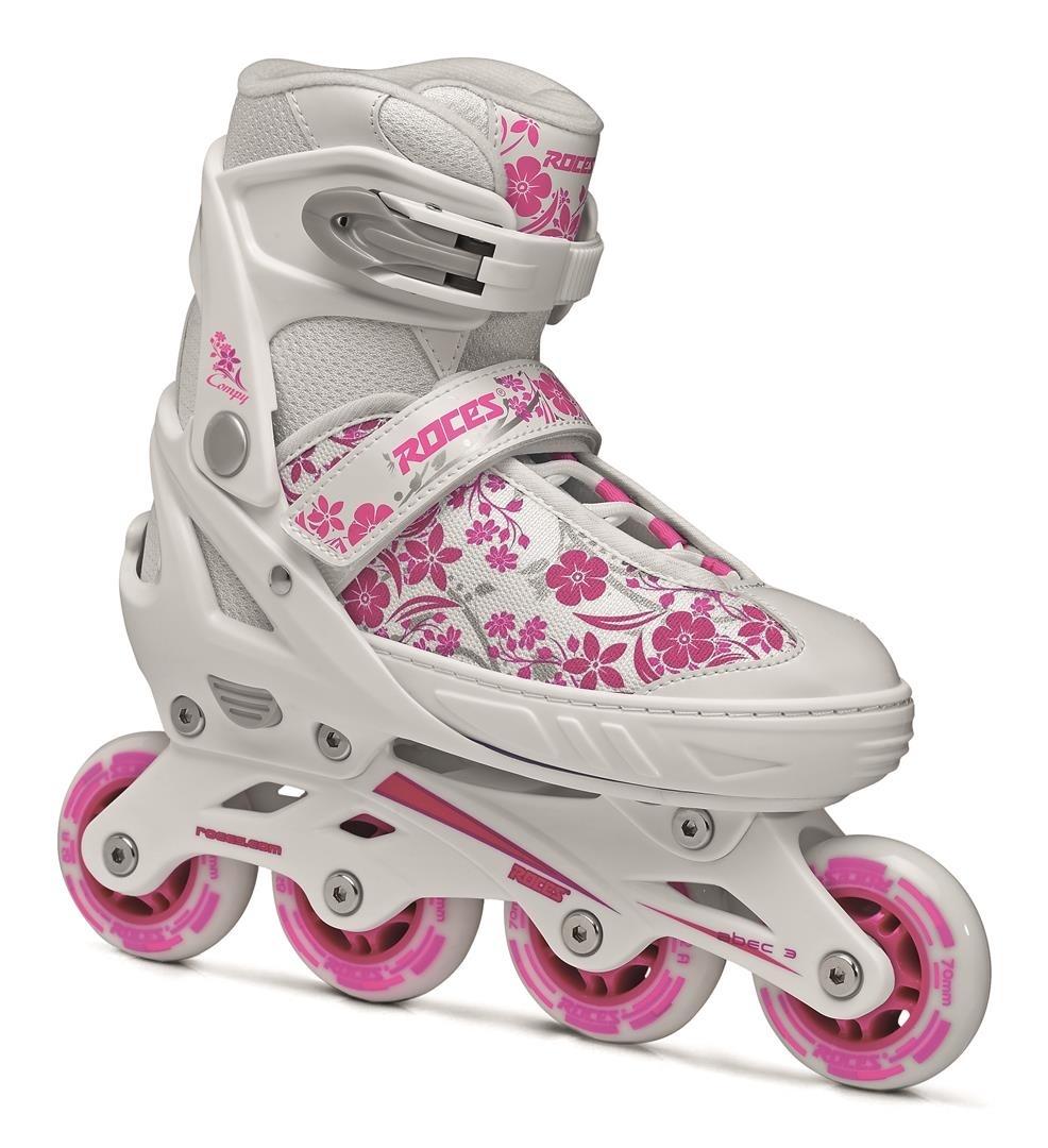 a372f23d599 Roces inline skates Compy 8.0 meisjes wit/roze - Giga-Bikes Tilburg