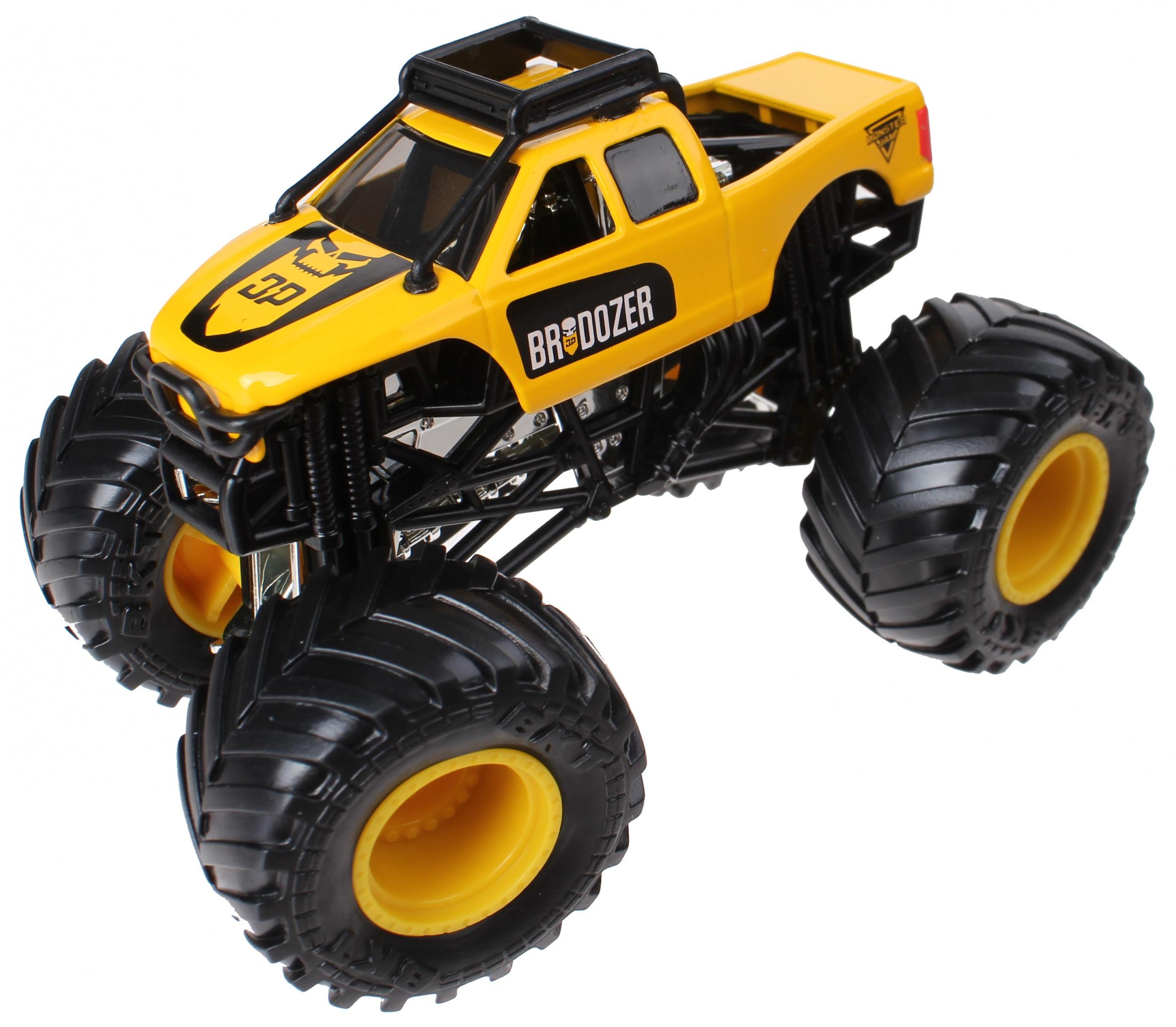 2c46fcfa83 Spin Master Monster Jam sample trucks 9 cm Brodozer/Gasmonkey - Giga ...