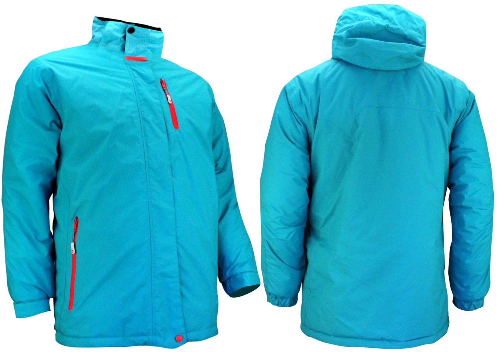 Ski Snowboardjas dames aqua blauw