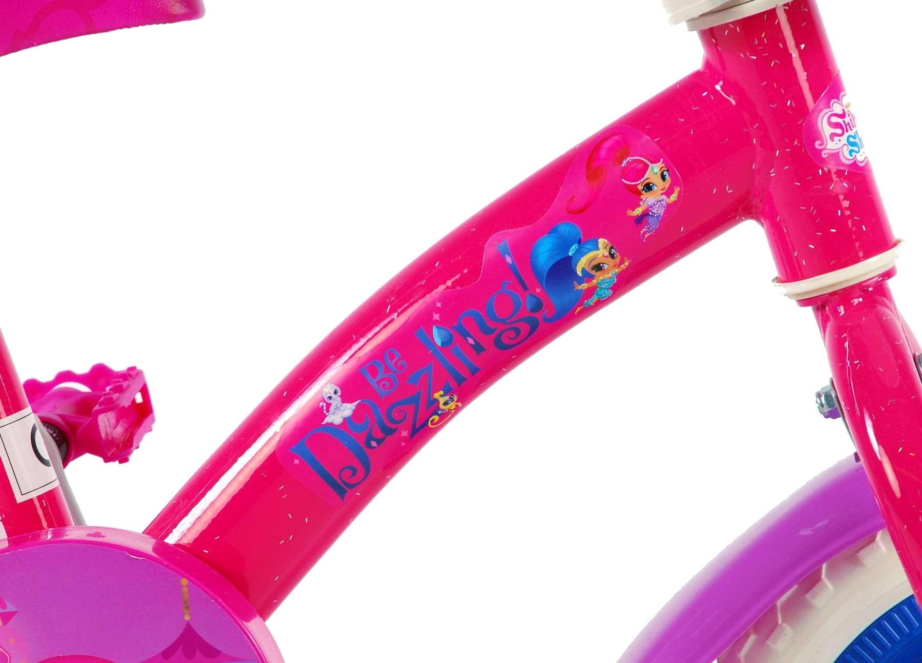 Volare Shimmer Shine 10 Inch Meisjes Doortrapper Rozepaars Giga