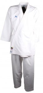 Arawaza karatepak Onyx Evolution WKF wit unisex