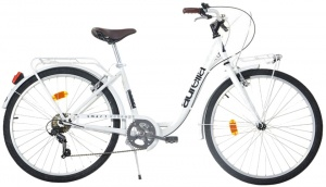 Aurelia Smart City 26 Inch Meisjes 6V V-Brake Wit