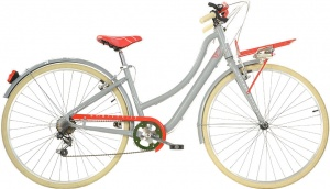 Aurelia Smart City 28 Inch Dames 6V V-Brake Grijs