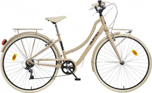 Aurelia Smart City 28 Inch Dames 6V V-Brake Lichtbruin
