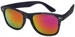 d033198af1 AZ-Eyewear sunglasses camouflage unisex green with orange mirror lens  (16-117 P