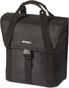 Basil pakaftas Go-Single 18 L zwart - 17656