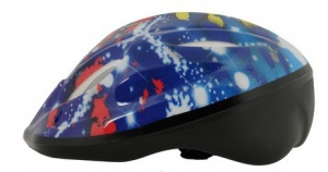 Bicycle Gear Helm junior spetters blauw