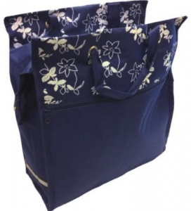 Bicycle Gear shopper 18 liter donkerblauw