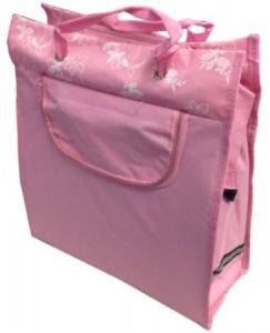 Bicycle Gear shopper 18 liter roze