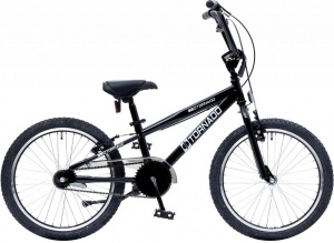 Bike Fun Cross Tornado 20 Inch Junior Terugtraprem Zwart