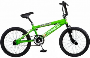 Bike Fun Tornado 20 Inch Unisex V-Brake Groen