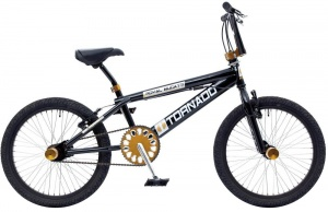 Bike Fun Tornado 20 Inch Unisex V-Brake Zwart