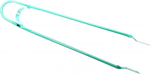 BLS spatbordstang Tour 28 x 1 1/2 inch 10 mm staal turquoise