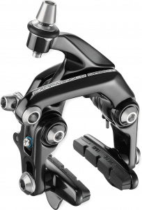 Campagnolo remhoef achterwiel Direct Mount 49 mm aluminium zwart